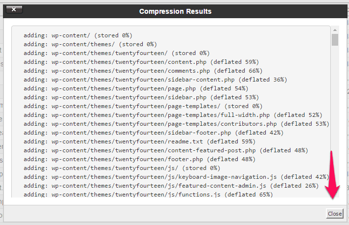 compression-result-cara-backup-wordpress
