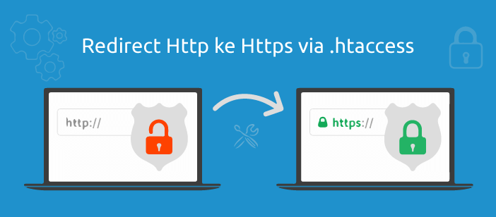 cara redirect http ke https via htaccess